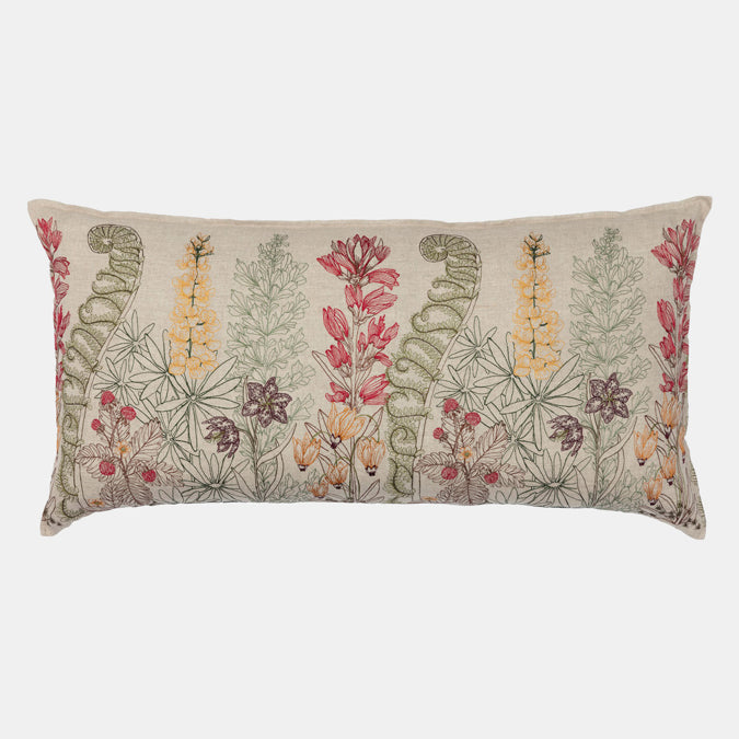 Spring Blossoms Pillow, lumbar