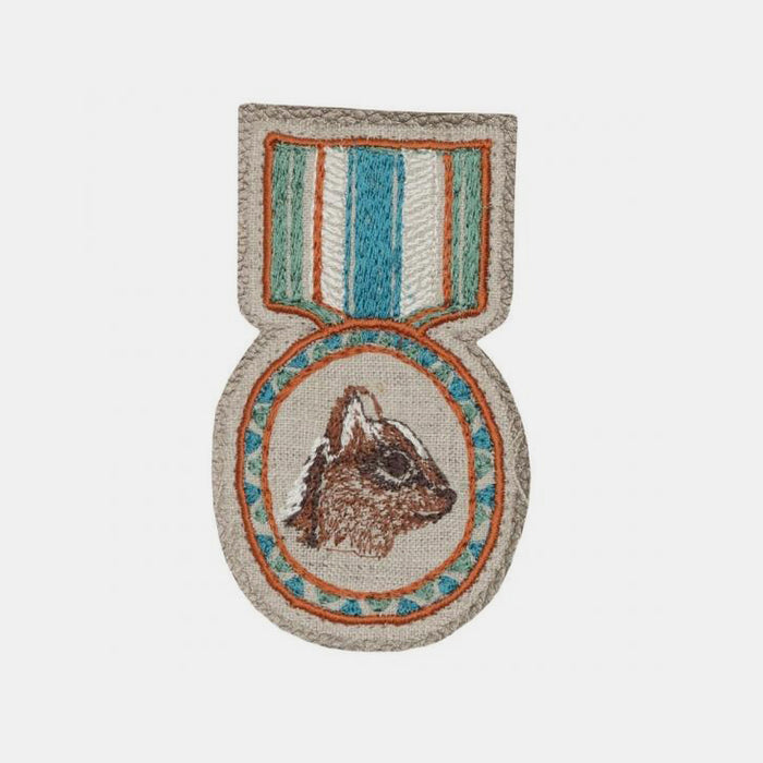 Chipmunk Badge Pin, Pin, Coral & Tusk, Collyer's Mansion - Collyer's Mansion