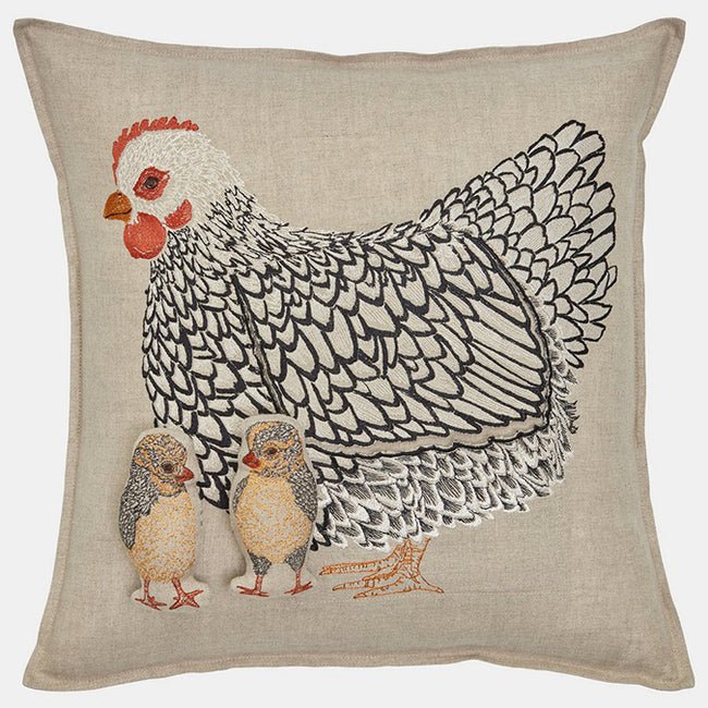 Mother Hen Pocket Pillow, square