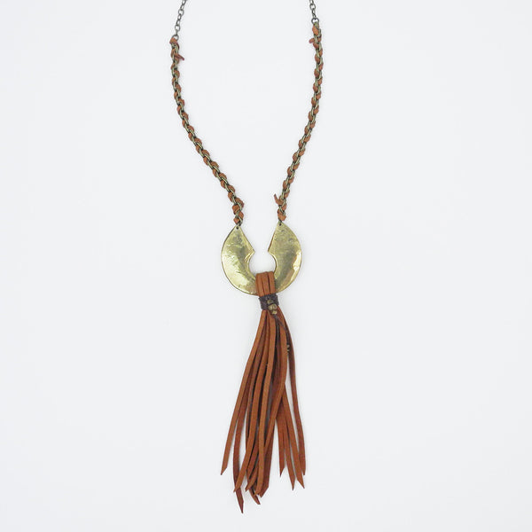 Cyprus Necklace, saddle