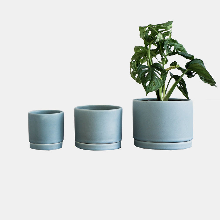 Siren Blue Tabletop Planter