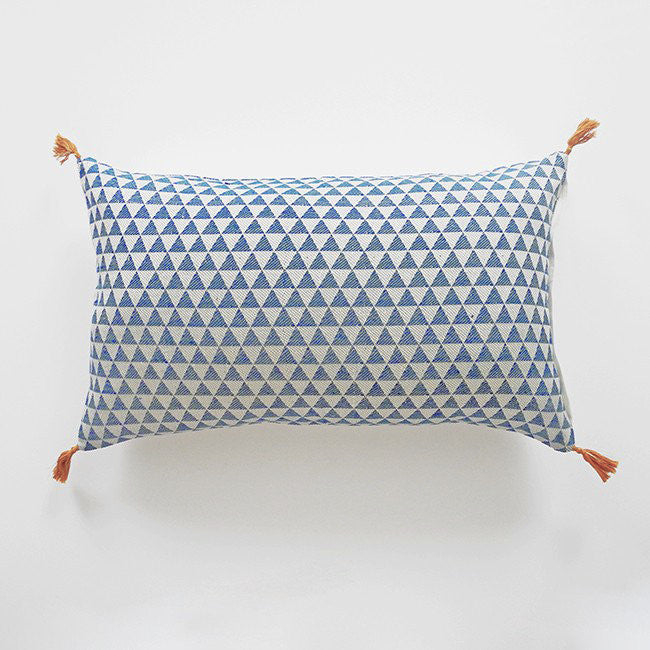 Alice Duck Blue Pillow, lumbar, Pillow, Jamini, Collyer's Mansion - Collyer's Mansion