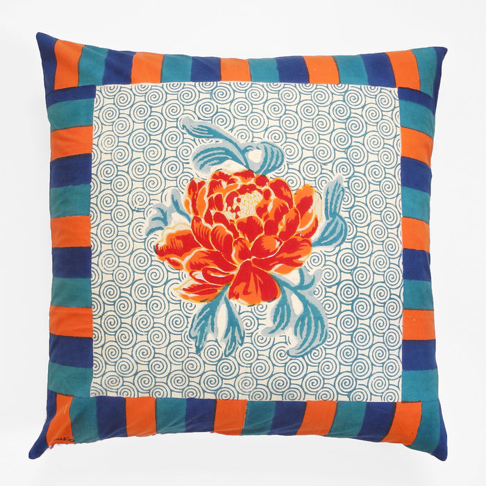 Camelia Peacock Pillow