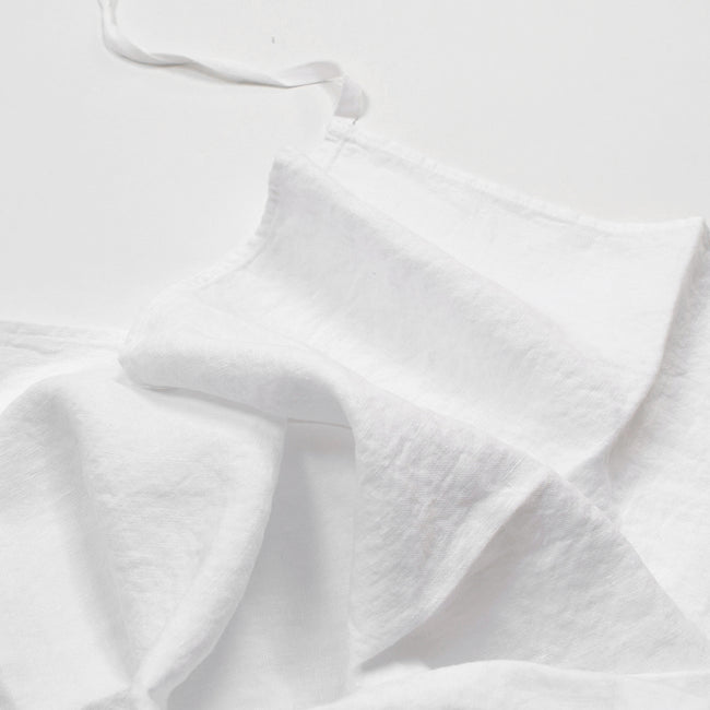 Linen Dishtowel, optic white