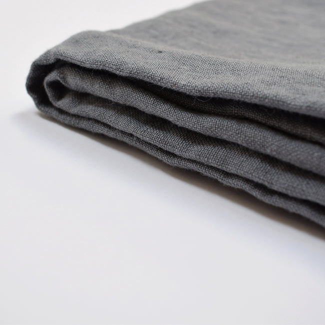 Linen Dishtowel, real grey