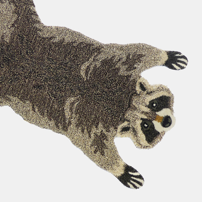 Rocky Raccoon Rug