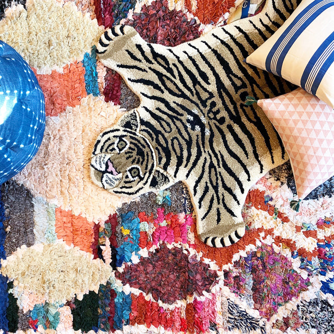 Drowsy Tiger Rug, Rug, Doing Goods, Collyer's Mansion - Collyer's Mansion
