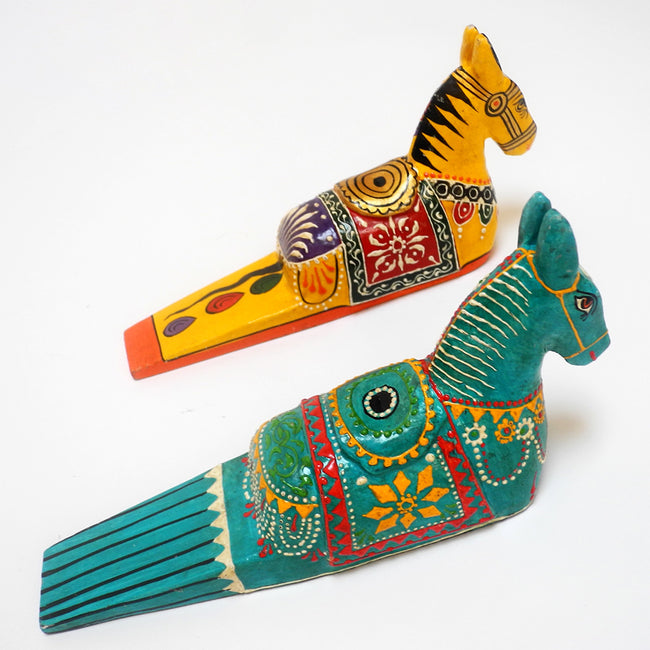 Doorstop, horse, Tools and Brushes, Culturas Trading, Collyer's Mansion - Collyer's Mansion