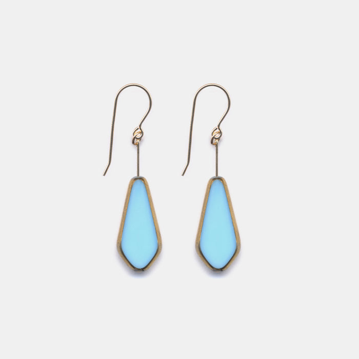 Blue Shield Earrings