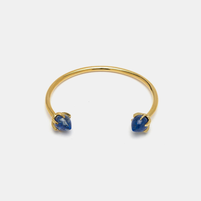 Eclipse Cuff in Lapis, Bracelet, Lizzie Fortunato, Collyer's Mansion - Collyer's Mansion