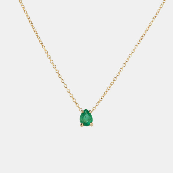 Elizabeth Emerald Necklace