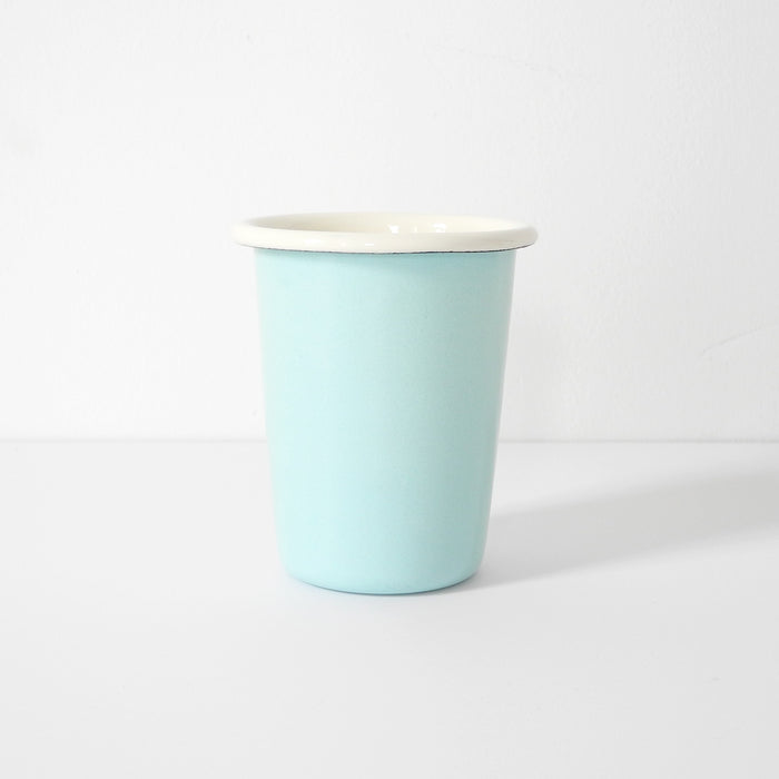 Light Blue Enamel Tumbler