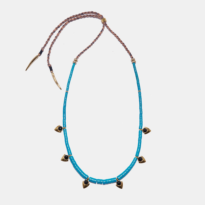 Simple Necklace in Turquoise