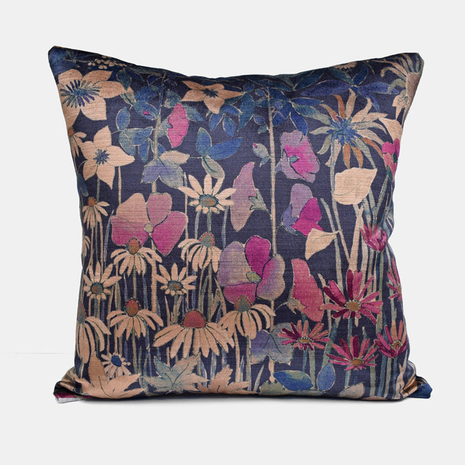 Faria Blackberry Pillow, square