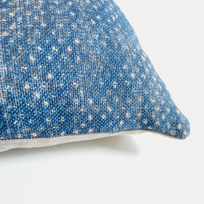Fermoi Figured Linen Pillow, lumbar
