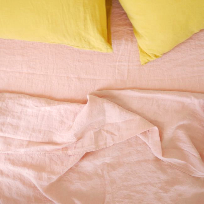 Linen Flat Sheet, copper
