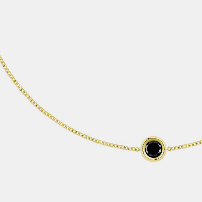 Flirty Bracelet with Black Diamond
