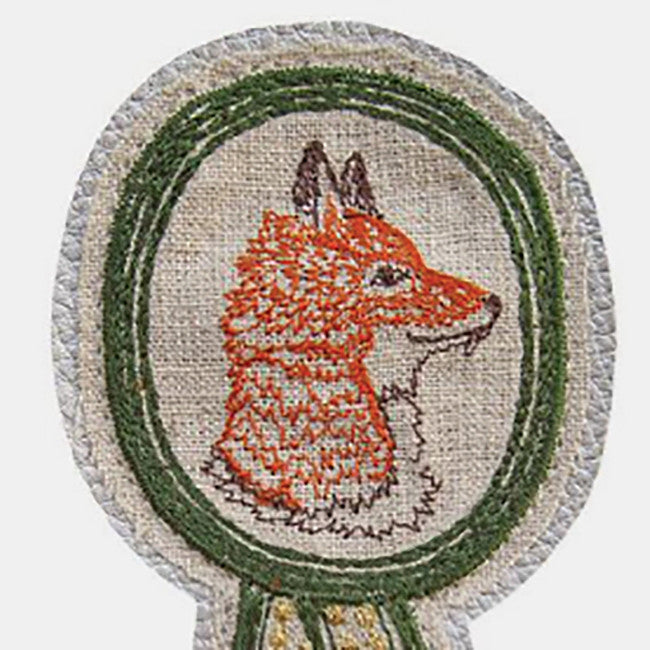 Fox Badge Pin, Pin, Coral & Tusk, Collyer's Mansion - Collyer's Mansion