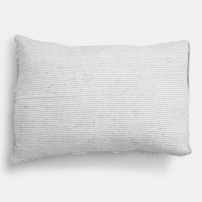 Linen Standard Pillowcase, pyjama stripe