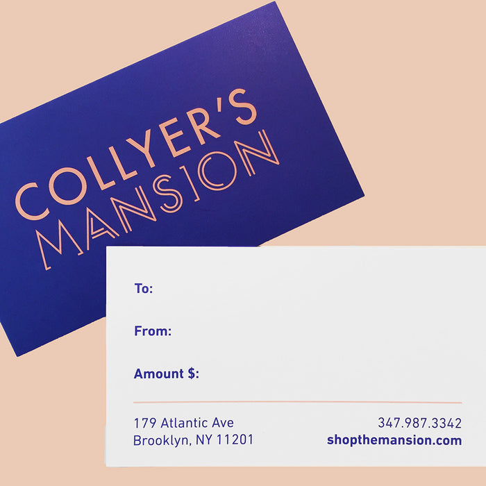 Gift Card, Gift Card, Collyer's Mansion, Collyer's Mansion - Collyer's Mansion
