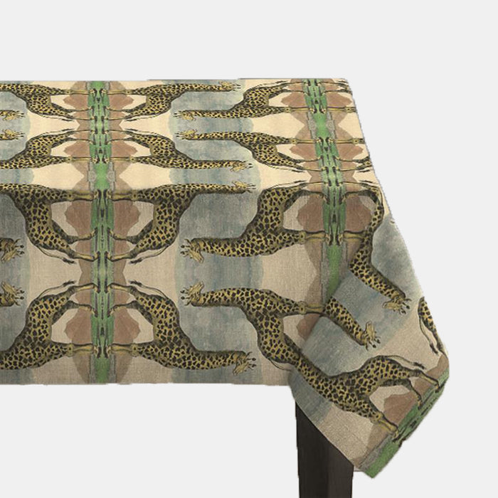 Giraffe Tablecloth, Tablecloth, Avenida Home, Collyer's Mansion - Collyer's Mansion