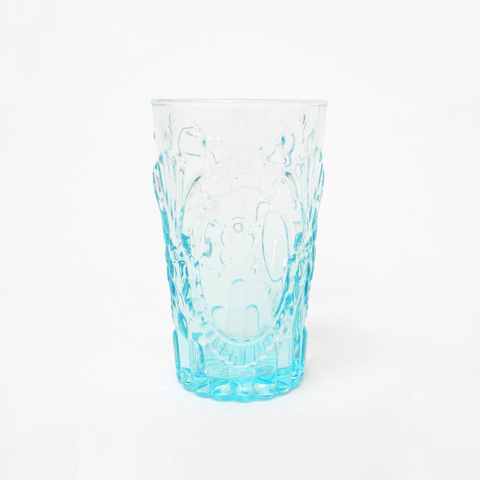 Blue Pheasant Grace Blue Highball Glass for elegant dining and blue tablescapes - Collyer's Mansion