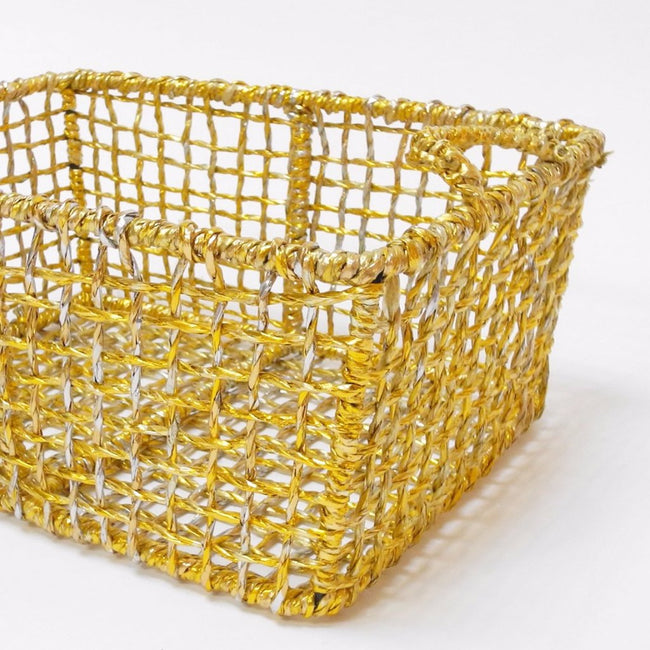 Gold Basket, Basket, Studio One Solutions, Collyer's Mansion - Collyer's Mansion