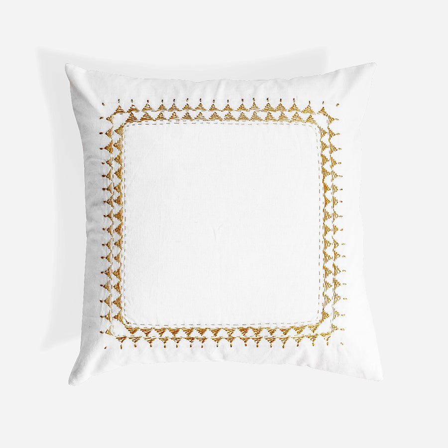 Clea Gold Pillow, square