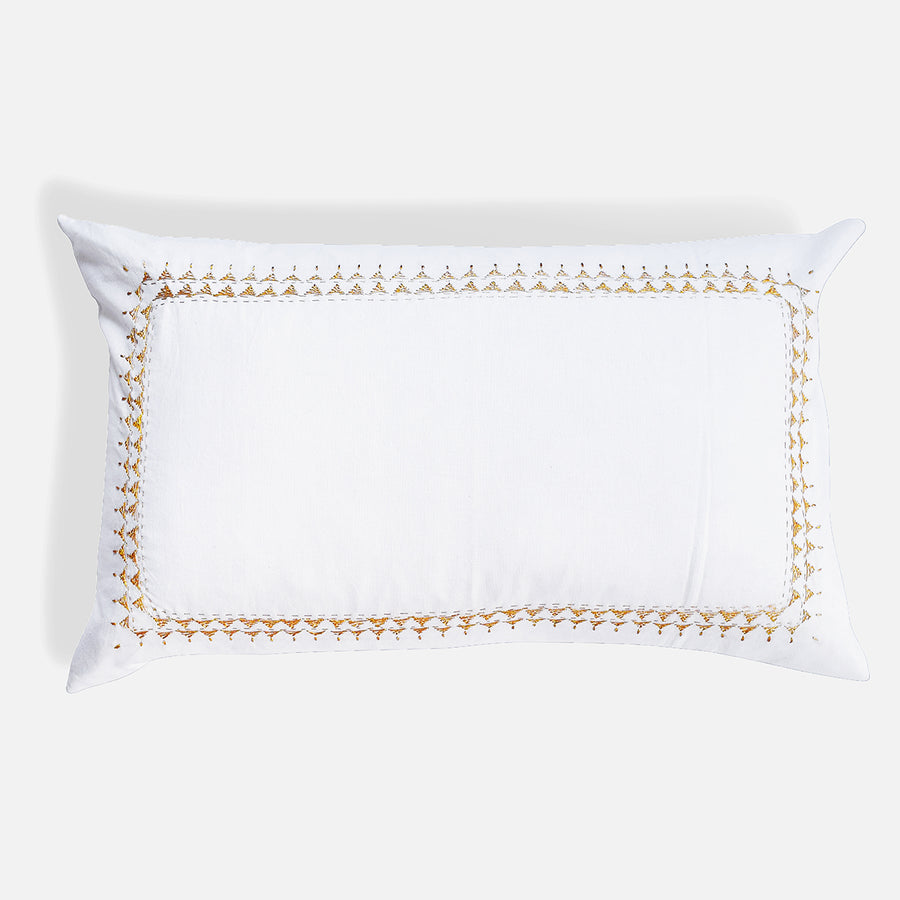 Clea Gold Pillow, lumbar