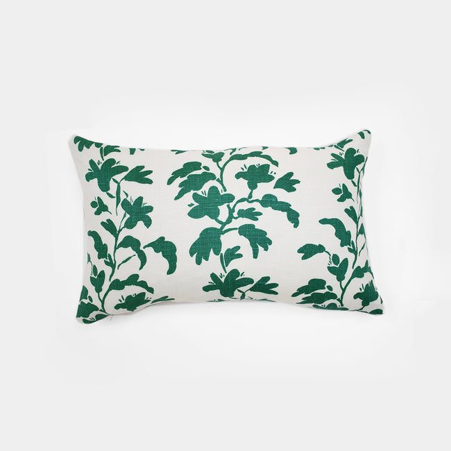 Green Vine Pillow, lumbar, Pillow, Collyer's Mansion Collection, Collyer's Mansion - Collyer's Mansion