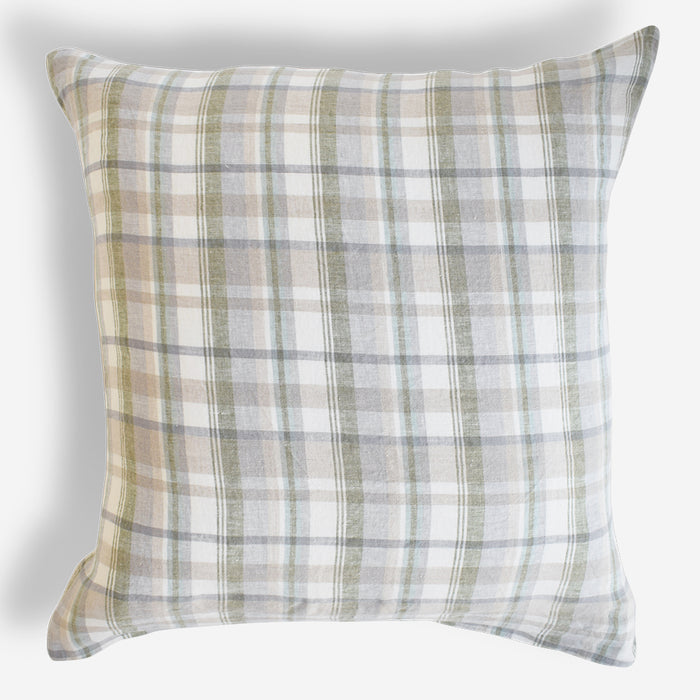 Linen Euro Pillowcase, hanky
