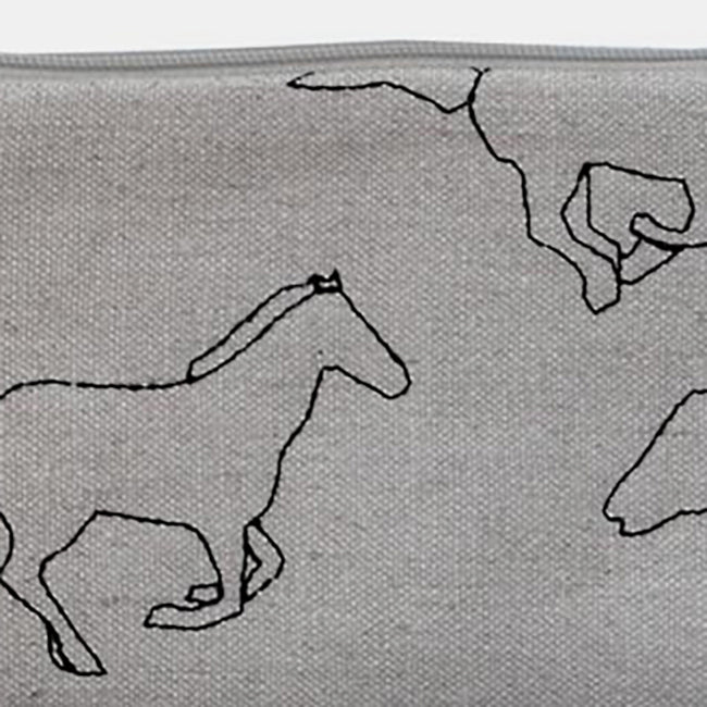 Small Galloping Horses Pouch