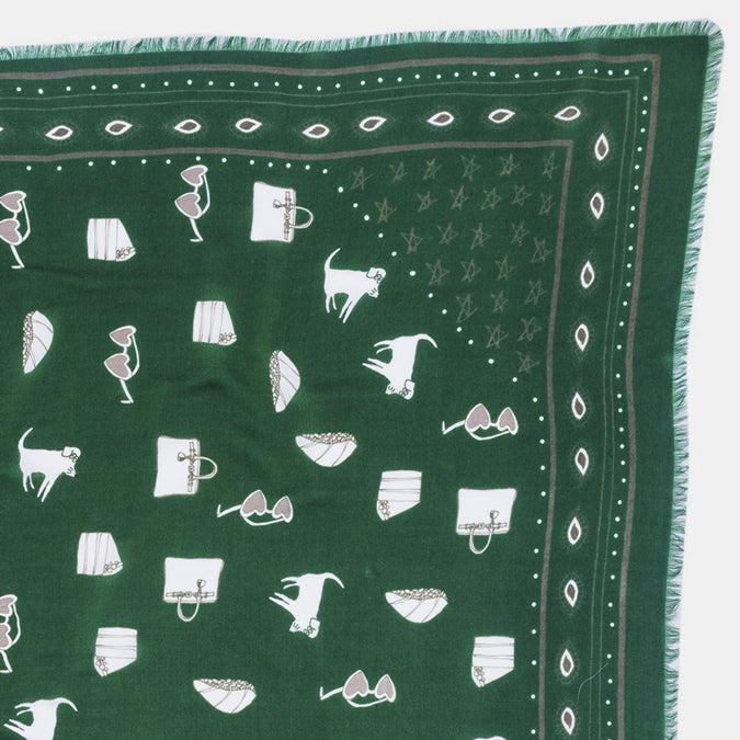 Hunter Green Bandana