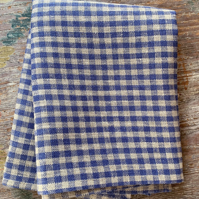 Blue Plaid Nina Thick Kitchen Cloth