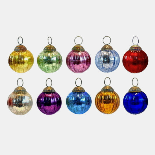 Assorted Glass Ornament, small