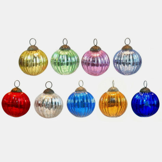 Assorted Glass Ornament, large