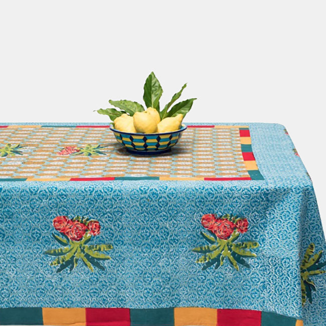 Jungle Banano Jade Tablecloth