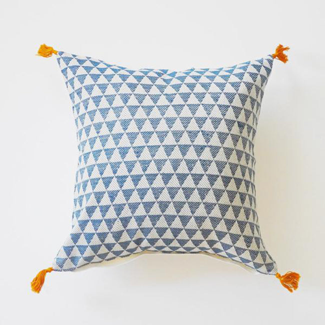 Alice Duck Blue Pillow, square, Pillow, Jamini, Collyer's Mansion - Collyer's Mansion