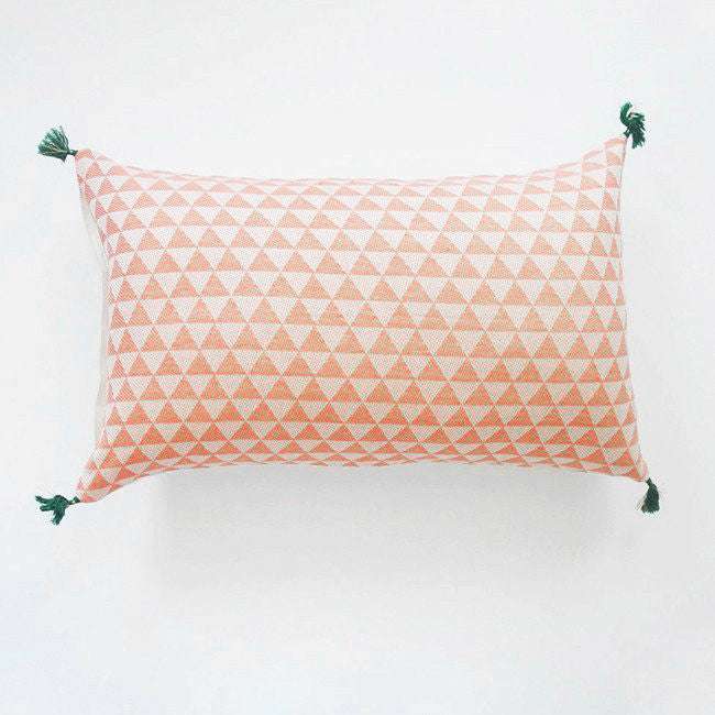 Alice Pink Pillow, lumbar, Pillow, Jamini, Collyer's Mansion - Collyer's Mansion