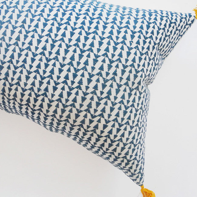 Ashu Duck Blue Pillow, lumbar, Pillow, Jamini, Collyer's Mansion - Collyer's Mansion