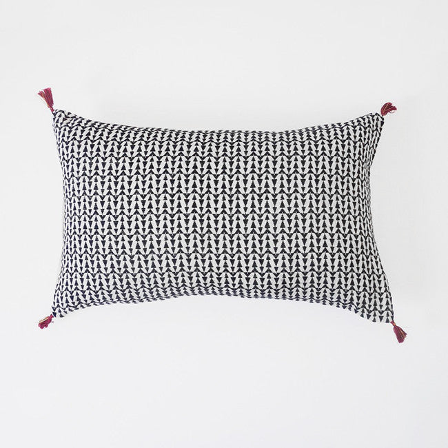 Ashu Charcoal Pillow, lumbar