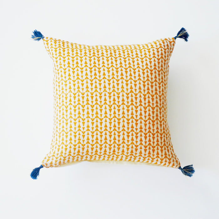 Ashu Mustard Pillow, square