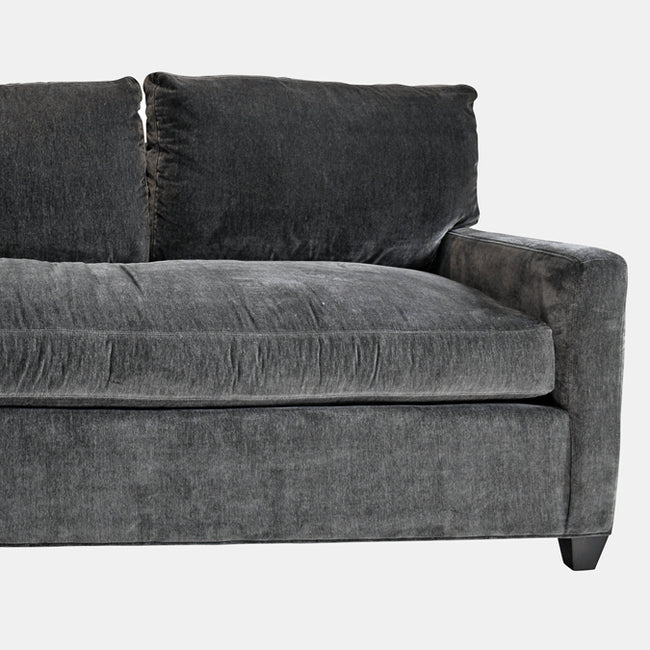 Jane Sofa in Everest Peppercorn
