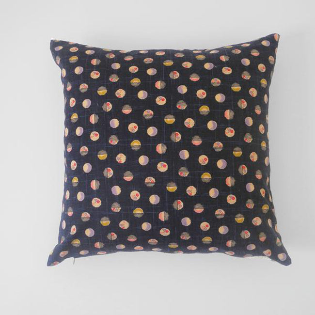 Japanese Dot Pillow, square