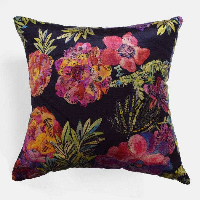 Liberty Jeffrey Rose Pillow, square
