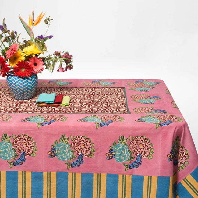 King Old Pink Tablecloth