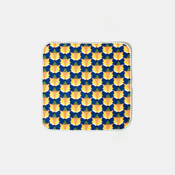 Blue Fox Washcloth