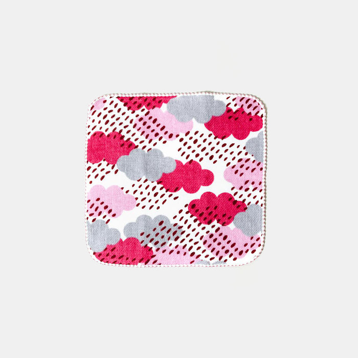 Pink Cloud Washcloth