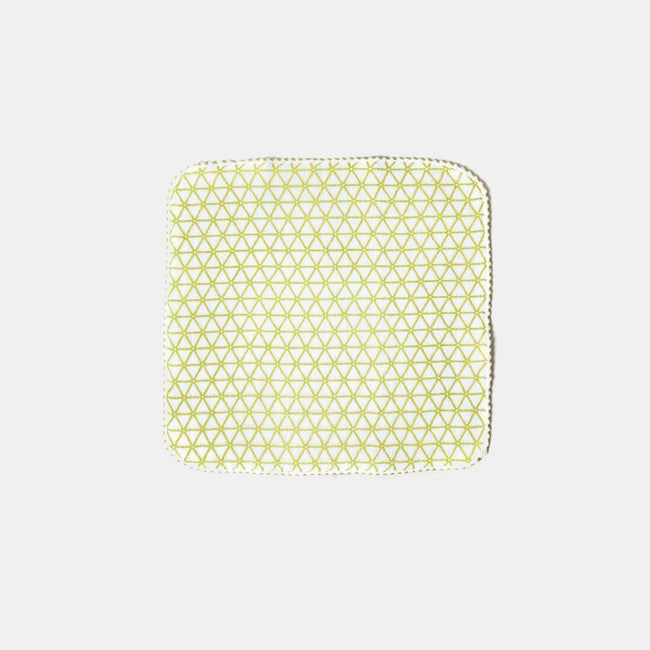 Green Kagome Washcloth