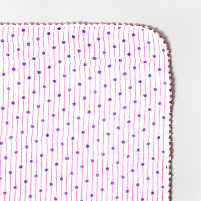 Pink Sudare Washcloth